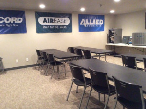 HVAC Training Room - Comfort Equipment Supply - North Salt Lake, UT